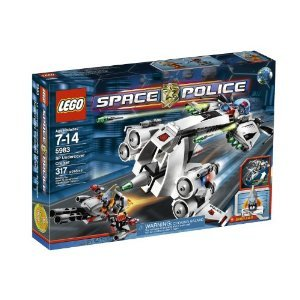 国内最安値! レゴ 5983 Undercover レゴ Undercover Cruiser 5983 スペース・ポリス スパイ・クルーザー, カミイナグン:d907ba49 --- konecti.dominiotemporario.com