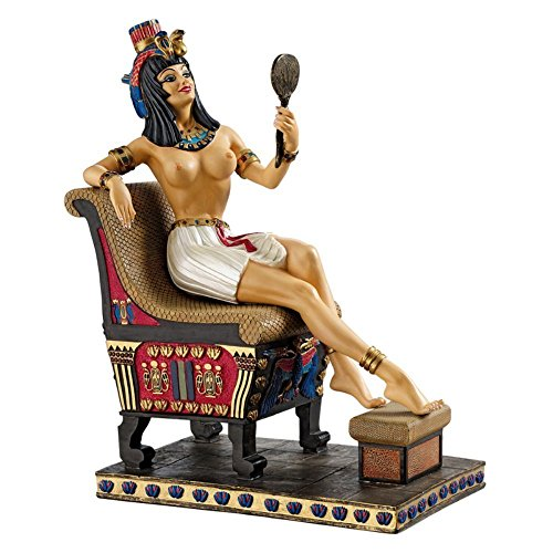 Design Toscano Pharaoh s Queen on the Throne Statue