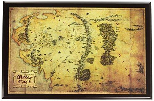 ホビット 思いがけない冒険 中つ国/ミドルアース 地図 レプリカ ノーブルコレクション