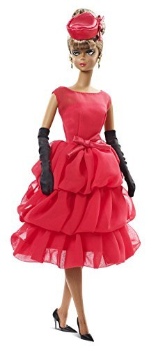 ホビー Barbie バービー Collector BFMC Red Dress African-American doll ドール 人形