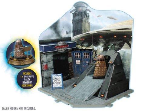 Doctor Who (ドクター・フー) Dr Who Time Zone プレイセット DALEK INVASION inc EXCLUSIVE Dalek Hover