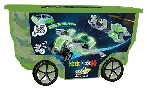 [クリックス]Clics TOYS Space Rollerbox Toy, 400Piece CB413