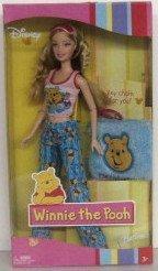 バービー Disney Winnie The Pooh Barbie Doll ドール 人形 フィギュア