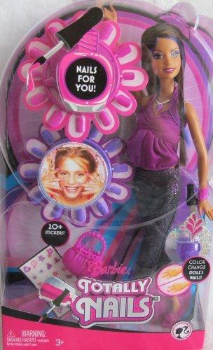 バービー Barbie TERESA TOTALLY NAILS DOLL (Brunette Hair) w COLOR CHANGE Finger NAILS (2008) ドー