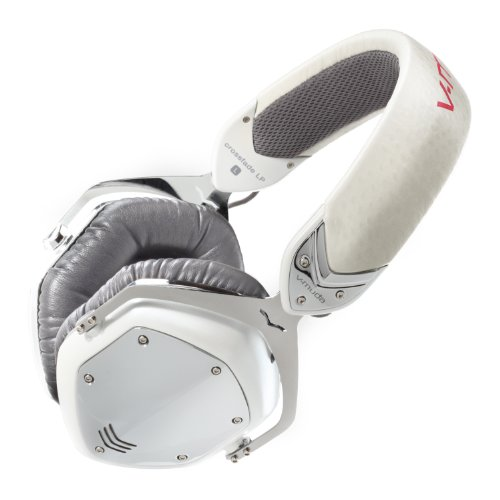 V-MODA Crossfade LP Over-Ear Noise-Isolating Metal Headphone(white peal)