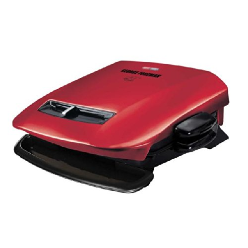 George Foreman ジョージフォアマン GRP2841R 5-Serving Removable Plate Grill with Variable Temperatu