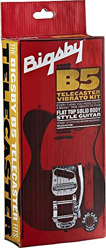 Bigsby B5 Vibrato Kit for Flat Top Solid Body Guitars ソリッドギター用 ビグズビー