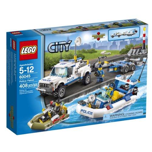 LEGO レゴ 市警察 60045 警察パトロール