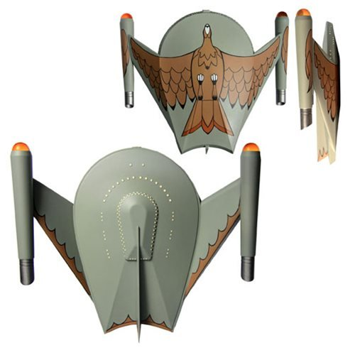 Star Trek: The Original Series Romulan Bird of Prey Electronic Starship