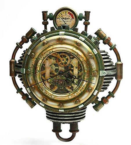 Fizziwigs 造形 スチームパンク コレクション壁掛け時計