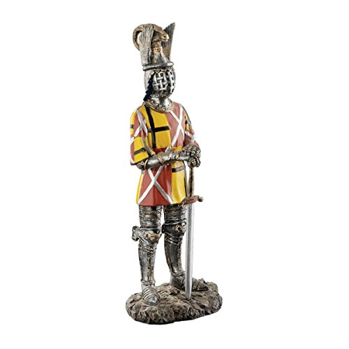 Design Toscano The Royal Gothic Knight of Castel Tures Sculpture