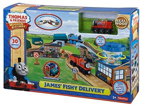 きかんしゃトーマス 木製レールシリーズ JAMES' FISHY DELIVERY ジェームスの魚の配送 BDG57 フィッシャ