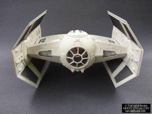 スターウォーズ #8275 AMT/ertl Star Wars TIE Fighter Flight Display Plastic Model Kit,Needs Assembl