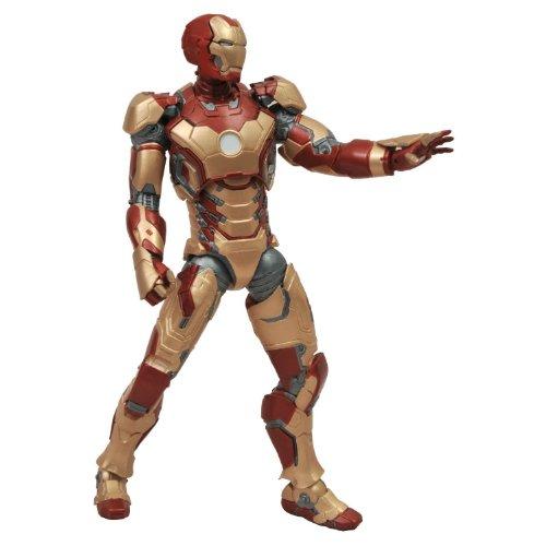 映画『アイアンマン3』アイアンマン マーク42 アクション フィギュア マスク着脱可トニー・スターク パト