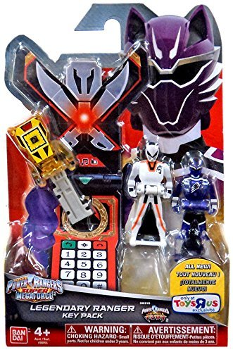 Power Rangers パワーレンジャーズ Super スーパー Megaforce - Jungle Fury Legendary Ranger Key Pack