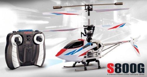 シーマ S800G 4 チャンネル ラジオ コントロール Syma S800G 4 Channel Radio Control Helicopter W/Gyro