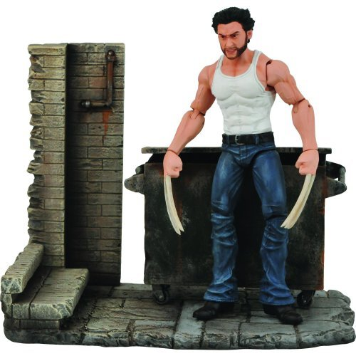 Marvel Select - Action Figure: X-Men Origins: Wolverine - Wolverine by Diamond Select