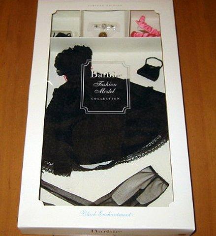 Black Enchantment Fashion for Silkstone Barbie(バービー) スケルトンバービードールの衣装セット