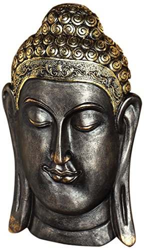 Design Toscano Asian Wall Sculpture, Bronze