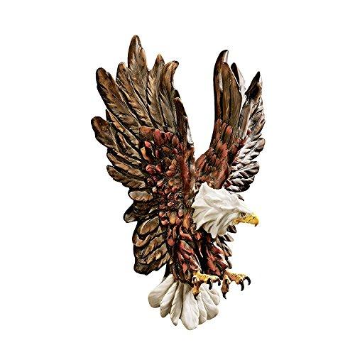 Design Liberty's Wall Toscano Eagle Flight Sculpture