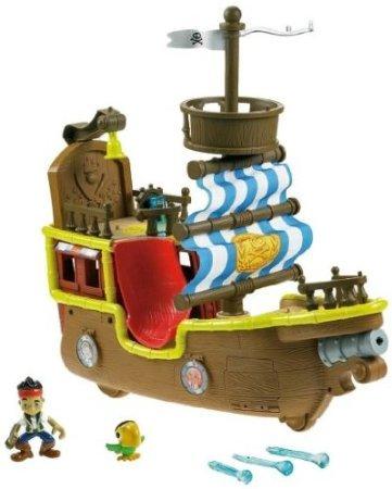 Fisher-Price (フィッシャープライス) Jakes Musical Pirate Ship Bucky ミニカー ミニチュア 模型 プレ