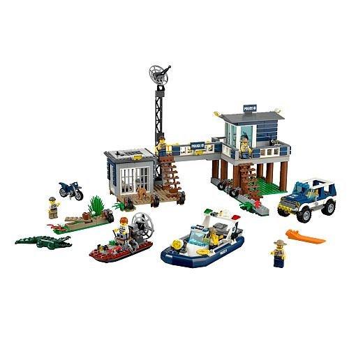 おもちゃ Lego レゴ City シティー Swamp Police Station (60069)