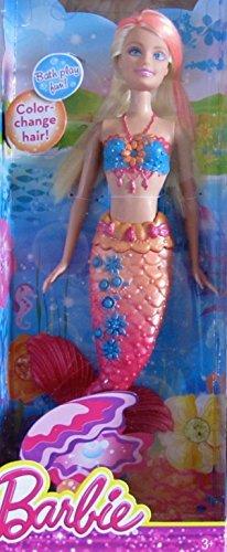 バービー BARBIE MERMAID Doll w BLONDE ブロンド & PINK