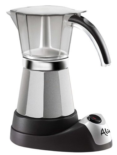 Delonghi EMK6 Alicia Electric Moka Espresso Coffee Maker