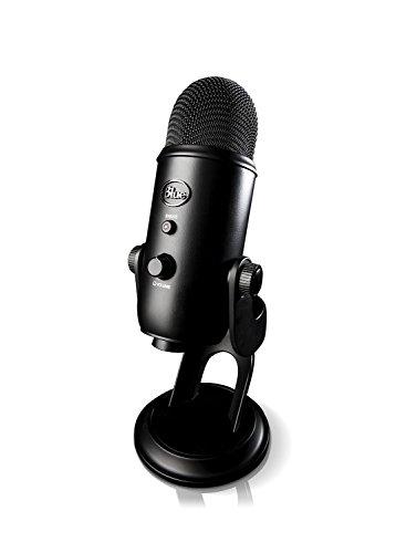 Yeti USB Microphone USB マイクロホン Blue Microphones社 Blackout