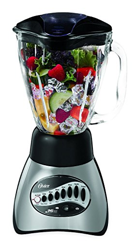 オスター Oster 6812-001 Core 16-Speed Blender with Glass Jar, Black