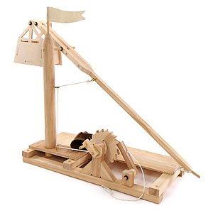 レオナルドダヴィンチ木製発明キットトレビュシェット