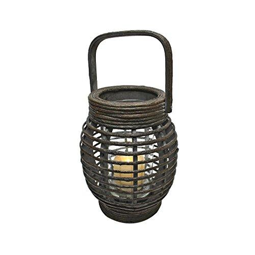 Design Toscano Inola Wood Lantern, 9'