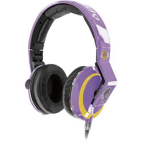 Skullcandy スカルキャンディー Mix Master Throw Back LA Lakers DJヘッドホン(ヘッドフォン) ミックス