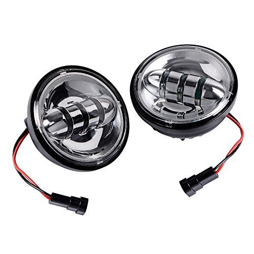 ANZIO Super Bright White CREE LED Auxiliary Spot Daymaker Passing Projector Fog Light Lamp fit Har