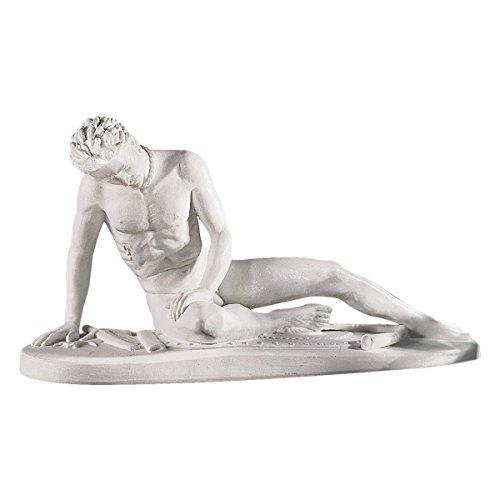 Design Toscano 7 in. Dying Gaul (Galeta Morente) Statue