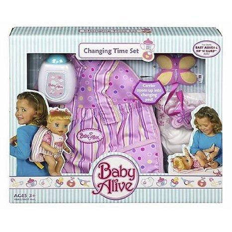 Hasbro (ハスブロ) Child Baby Alive (ベビーアライブ) Changing Time Set ドール 人形 フィギュア