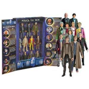 Doctor Who (ドクター・フー) 11 Doctors アクションフィギュア Set