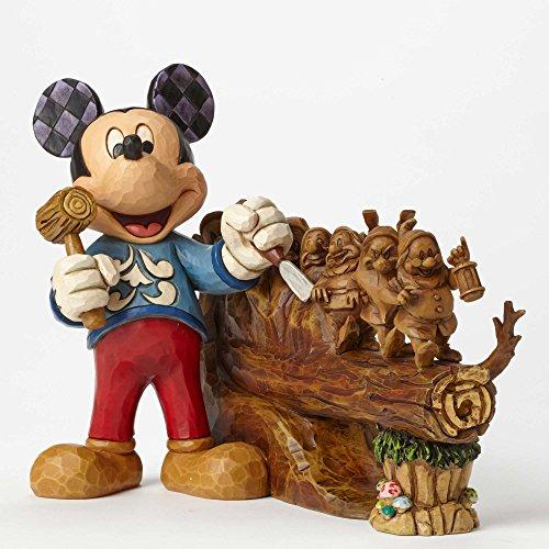 Jim Shore Disney Traditions Ten Year Anniversary Piece