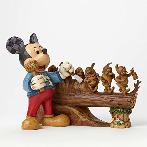 Jim Shore Disney ディズニー Traditions Ten Year Anniversary Piece