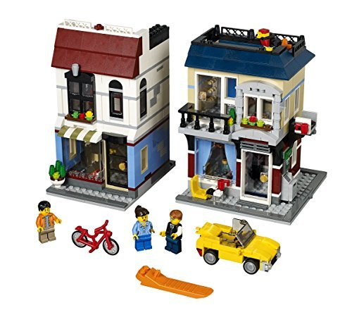 LEGO Creator Bike Shop and Cafe 31026 Building Toy by LEGO