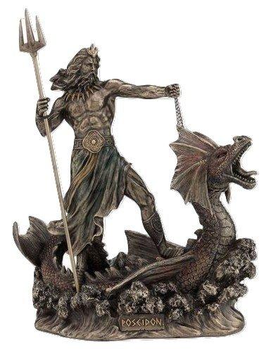 海の神 ポセイドン ブロンズ像 ギリシャ神話
