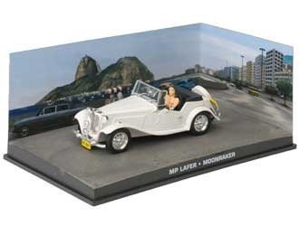 MP Lafer Diecast Model Car from James Bond Moonraker by Ex Mag (James Bond Collection)