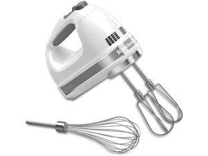 KitchenAid キッチンエイド 7段階スピード切替ハンドミキサー (白)