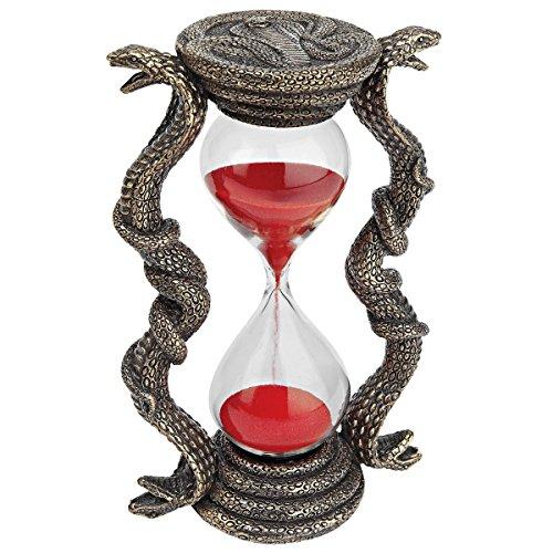 Design Toscano Egyptian Cobra Goddess Sandtimer Hourglass