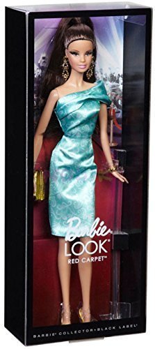 Barbie The Look Red Carpet Pink Gown Barbie Doll Collector Black Label by Mattel