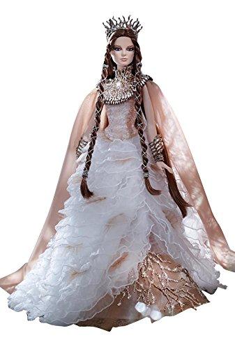 バービー 白い森の女王 Faraway Forest Lady of the White Woods