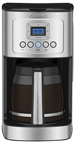 Cuisinart クイジナート社 DCC-3200 Perfec Temp 14-Cup Programmable Coffeemaker, Stainless Steel