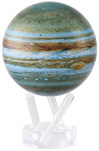 光で回る地球儀 ムーバグローブ MOVA Globe 4.5インチ 惑星・衛星シリーズ(木星)