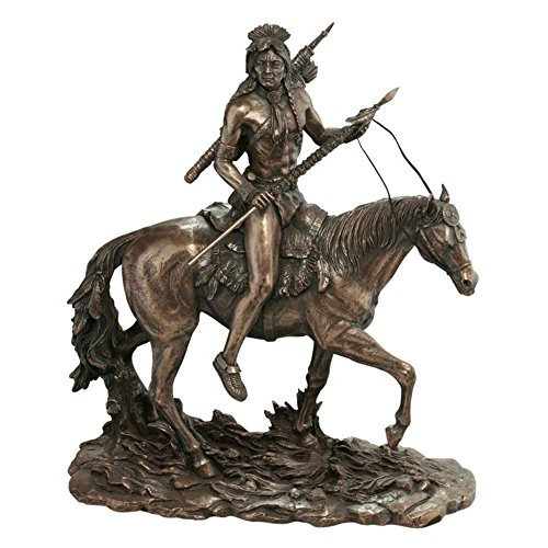 Design Toscano 12 in. The Warriors Lonely Path Sculpture