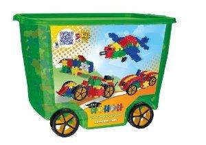 Clics Toys Rollerbox, 600 ピース ブロック おもちゃ